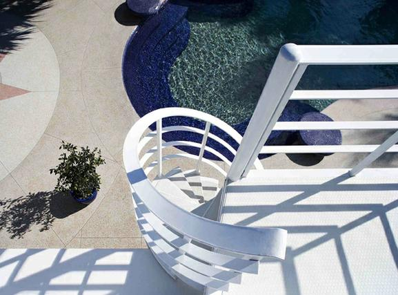 Stair to Pool