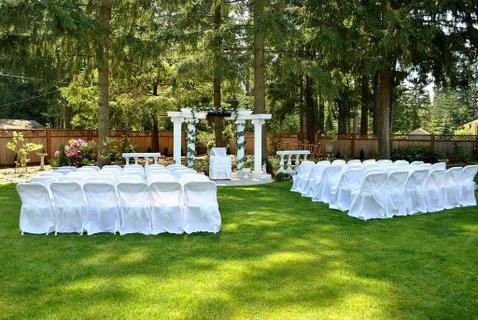 Villa rose gardens event venue in kent wa eventup for Outdoor wedding washington state