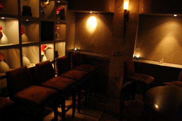 the basement lounge